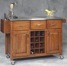 Movable Islands For Kitchen by Kitchen Island On Wheels With Its Traditional Look Three Roomy
