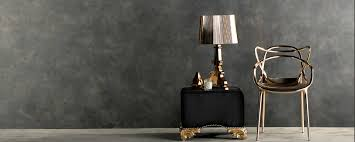 Kartell Bourgie Table Lamp Lava Slate U2013 Lamitak