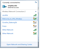 Windows 7 Bar At Top Of Screen Wifi At Uva Connect To The Encrypted Cavalier Wireless Network