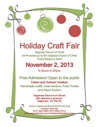 5 best images of fall craft fair flyers templetes holiday craft