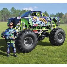 monster truck the mini monster truck hammacher schlemmer