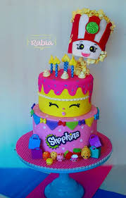 10 adorable shopkins cakes pretty my party