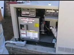 installation of a generac 22 kw generator youtube