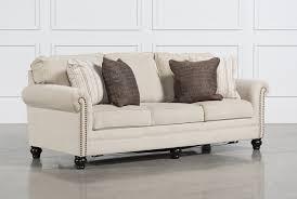Queen Leather Sleeper Sofa Living Spaces Sleeper Sofa Tourdecarroll Com