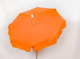Orange Patio Umbrella by Patio U0026 Beach Umbrella Uorac