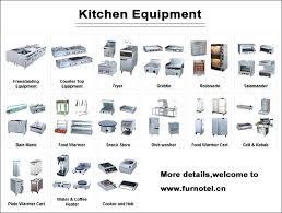 list of kitchen appliances restaurant kitchen appliances kitchen splendid design ideas
