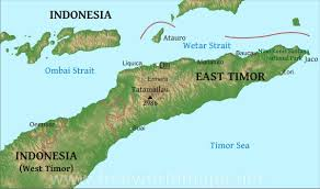 Map Of Eastern Asia by East Timor Physical Map