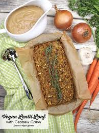 The Mediterranean Vegan Kitchen - vegan lentil loaf with cashew gravy dianne u0027s vegan kitchen