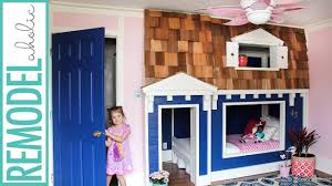 bunk bed playhouse tutorial youtube