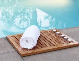 Bamboo Shower Floor Bamboo Floor And Shower Mat By Oceanstar Gadget Flow