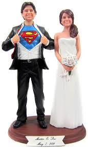 superman wedding cake topper custom superman wedding cake topper