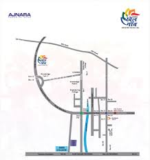 Greater Noida Metro Map by Ajnara Khel Gaon Greater Noida West Affordable Flats