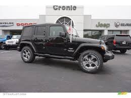 jeep black 2016 2016 black jeep wrangler unlimited sahara 4x4 108435685