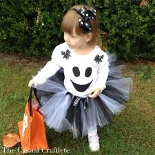 diy ghost tutu halloween costume the casual craftlete a