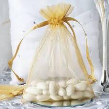 gold organza bags organza favor bag 5x7 crafts diy efavormart