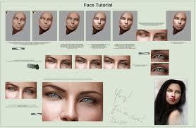 face skin and eyes tutorial by abigailsins on deviantart