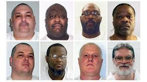 arkansas execution federal court blocks 7 executions set for 11 day span in arkansas
