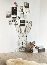 Rabbit Home Decor Wall Decoration Rabbit Wall Decal Lovely Home Decoration And