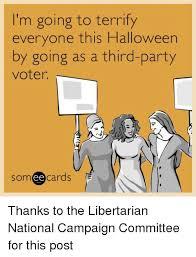 Republican Halloween Meme - 25 best memes about third party third party memes