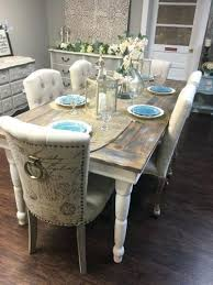 dining table cottage style dining table sets farm set farmhouse