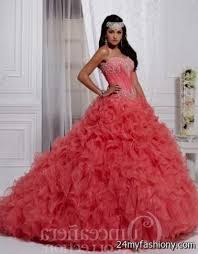coral quince dresses coral quinceanera dresses 2016 2017 b2b fashion