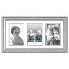 Wall Picture Frames by Silver Metallic Wall Frames Wall Decor The Home Depot