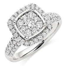 platinum diamonds rings images Platinum diamond cluster ring 0007978 beaverbrooks the jewellers