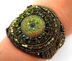 582 best cuff bracelets u003d bead embroidery and more images on