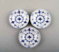 worldantique net royal copenhagen blue fluted plain small dishes