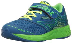 yellow ff asics noosa ff ps running shoe imperial green gecko safety