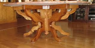 round oak coffee table with x base tables antique exc thippo