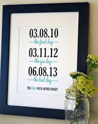 3rd wedding anniversary gift ideas 3 year wedding anniversary gift ideas for wedding gifts