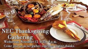 thanksgiving gathering northeast church