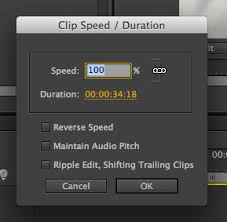 tutorial editing video di adobe premiere how to speed up and slow down clips in adobe premiere pro cs6