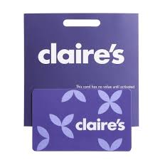 claires gift card claires 1 100 gift card at wilko