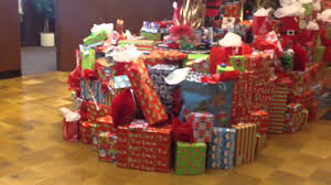 christmas tree with tons of presents youtube