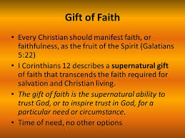 faith gifts overview 1 spiritual gifts in the bible 2 the supernatural