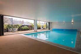 indoor swimming pool swimming pool best modern indoor swimming pool decor with brown
