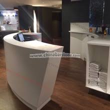 Small Hair Salon Modern White Small Reception Desk Beauty Salon Small Reception Desk Beauty