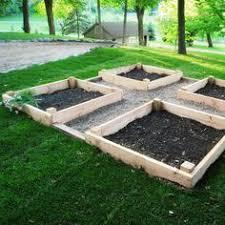 Box Garden Layout Build Your Own Wooden Succulent Garden Box Gardens My And
