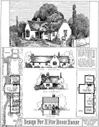 Storybook Cottage House Plans 1017 Best Vintage House Plans 1920s Images On Pinterest Vintage