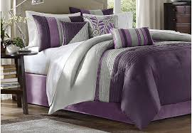 King Linen Comforter Brenna Purple 7 Pc King Comforter Set King Linens Red