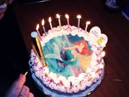 ariel birthday cake i by healene on deviantart