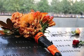 memorial flowers bengals visit 9 11 memorial