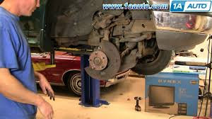 ford explorer front end parts how to install replace front hub ford explorer sport trac mercury