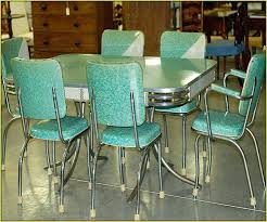 Retro Metal Kitchen Table Sets Vintage Metal Kitchen Tables And - Ebay kitchen cabinets