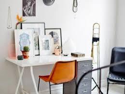 bureau avec treteau idée un bureau sur tréteaux 12 inspirations et une selection