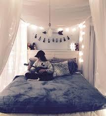 tete de lit chambre ado tete de lit lumineuse deco chambre ado fille matelas gris baldaquin