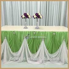 Table Skirts Tc106k 25 2017 New Design Thin Chiffon Cinderella Table Skirt With