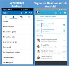 skype for android tablet apk skype for business is now on android skype for business android
